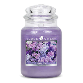 Sweet Pea Large Jar Candle