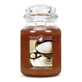 Toasty Hot Toddy Large Jar Candle