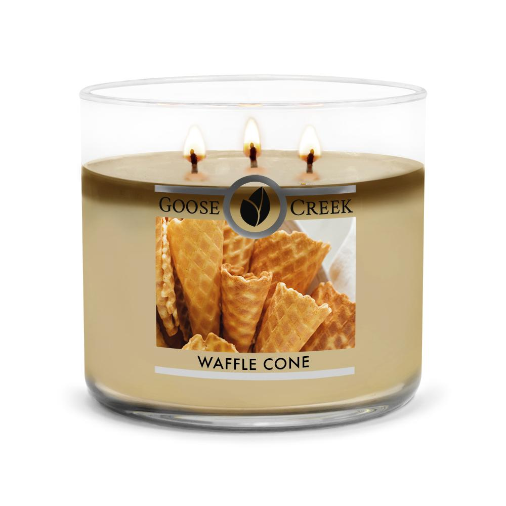 Waffle Cone Large 3-Wick Candle