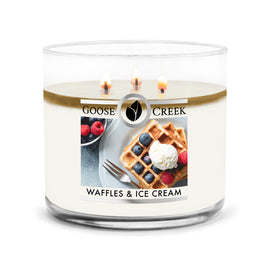 Waffles & Ice Cream Large 3-Wick Candle