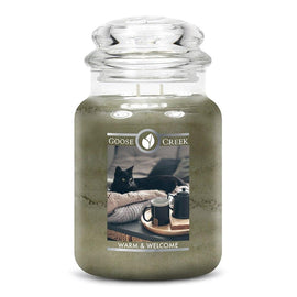 Warm & Welcome Large Jar Candle