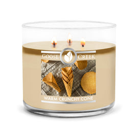 Warm Crunchy Cone Large 3-Wick Candle