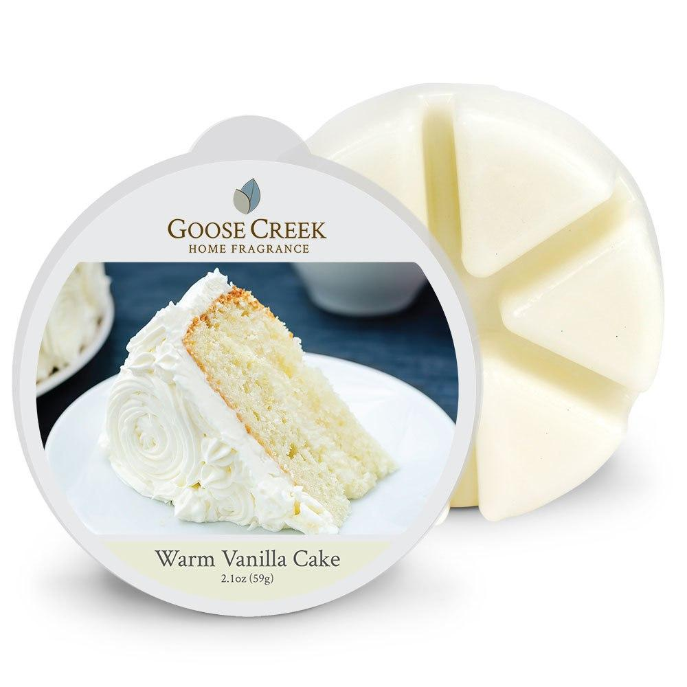 Warm Vanilla Cake Wax Melt