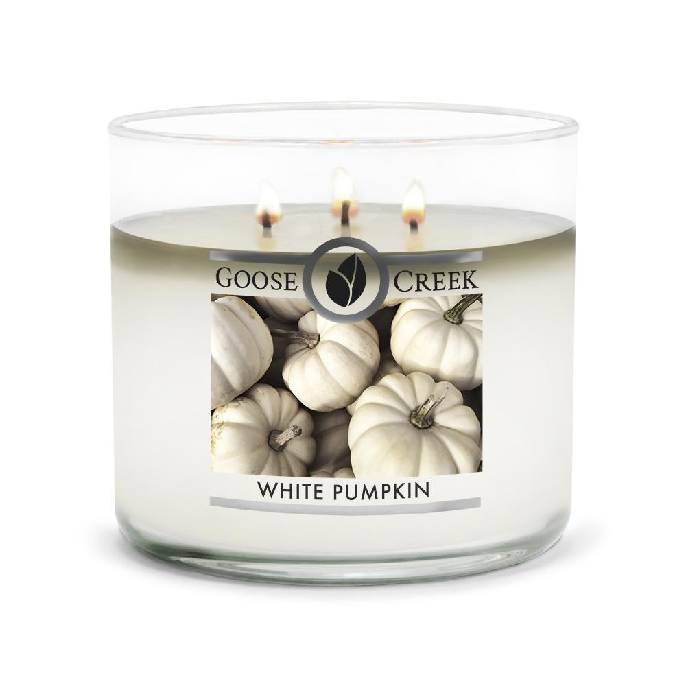 White Pumpkin Large 3-Wick Candle