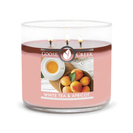 White Tea & Apricot Large 3-Wick Candle