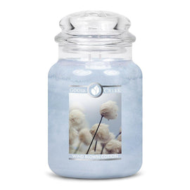 Wind Blown Cotton Large Jar Candle