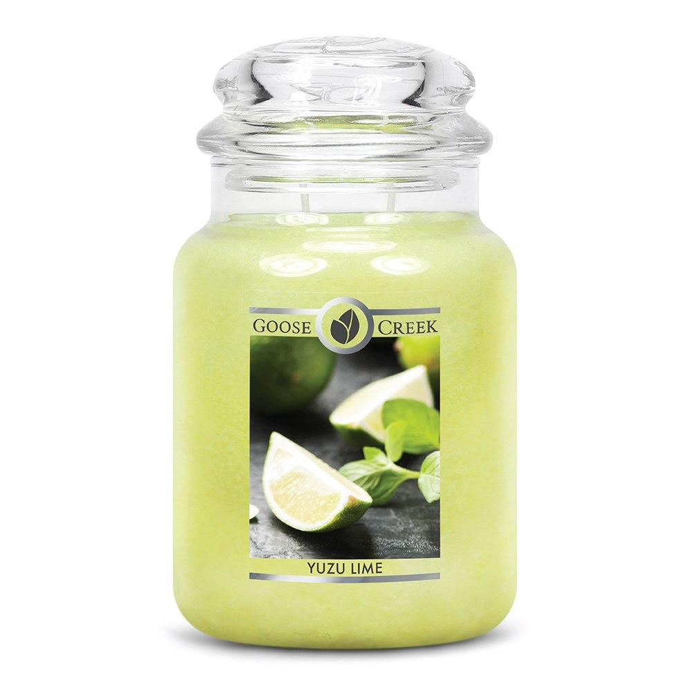 Yuzu Lime Large Jar Candle