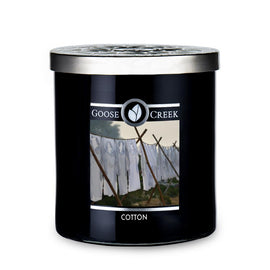 Cotton Large Jar Candle