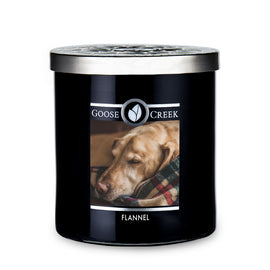 Flannel Large Jar Candle