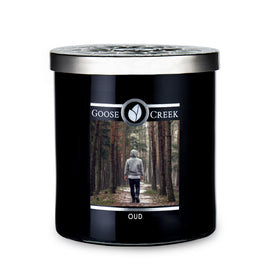 Oud candle for men