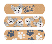 Get the Shot Bandage Stickers