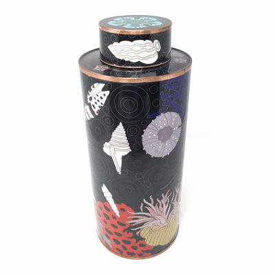 Rock Fish Cloisonne Lidded Container - Barnbury