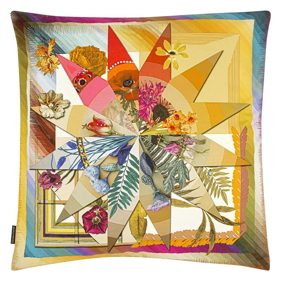 Christian Lacroix Botanic Rainbow Cushion - Barnbury