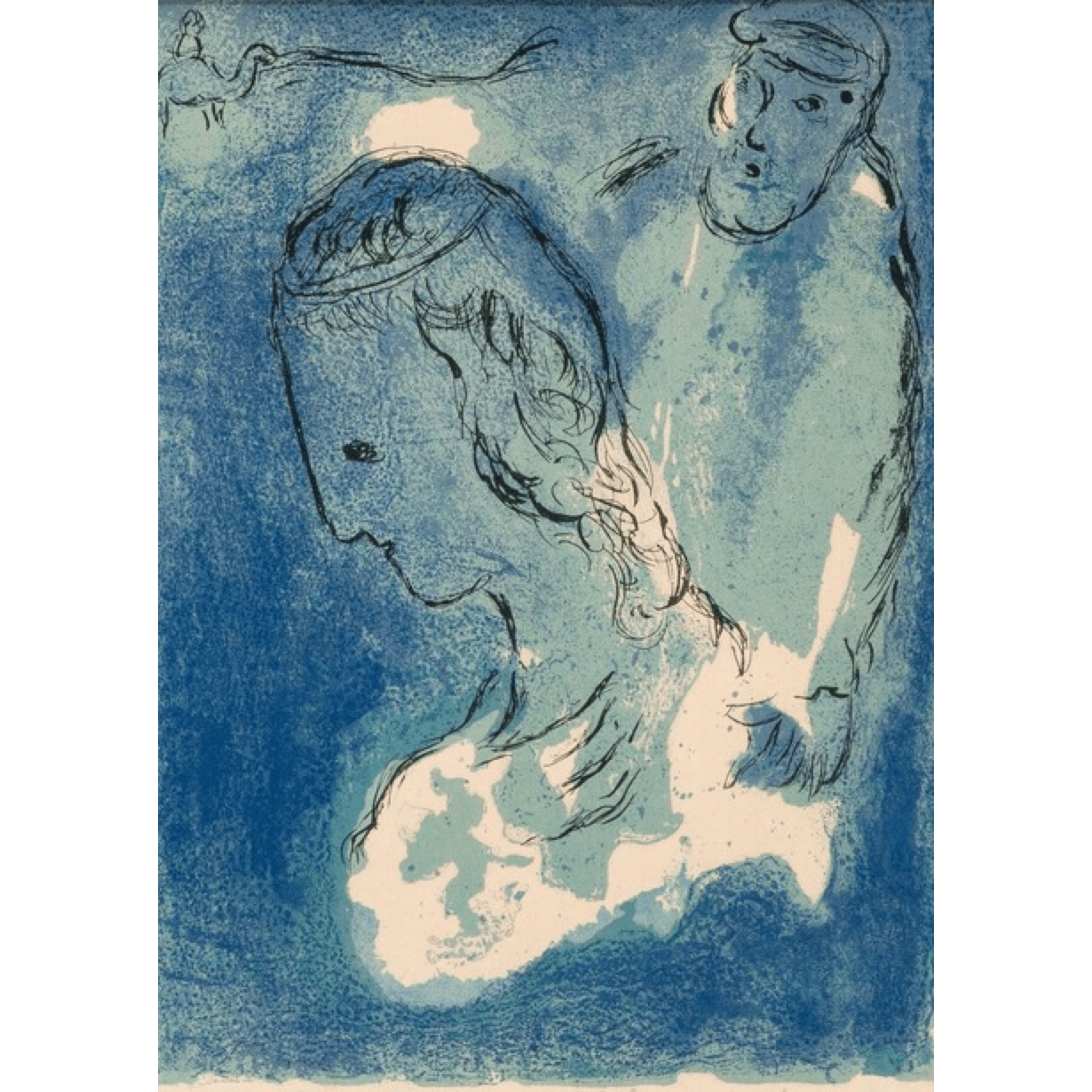 Marc Chagall - Abraham and Sarah - Barnbury