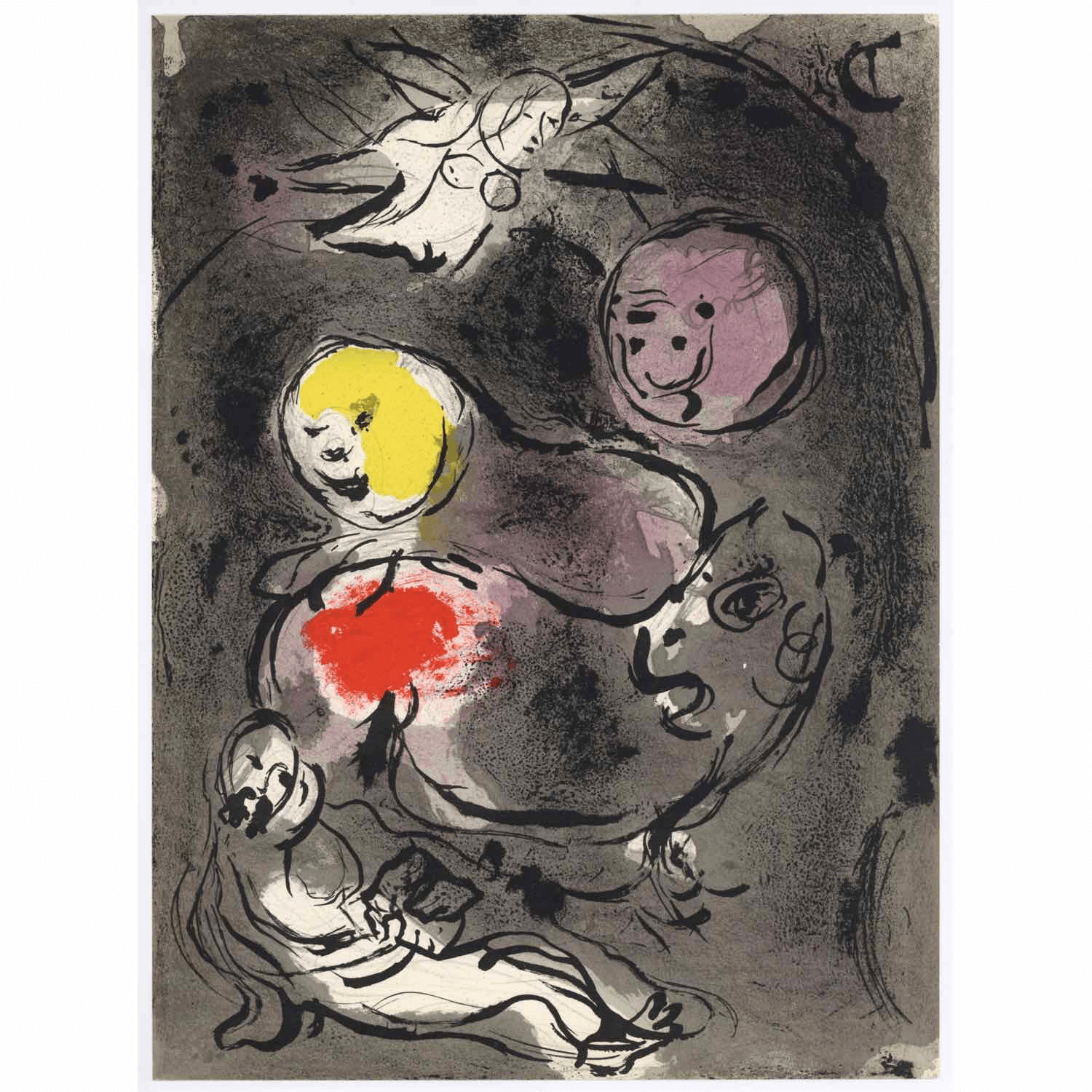 Marc Chagall - Daniel with the Lions - Barnbury