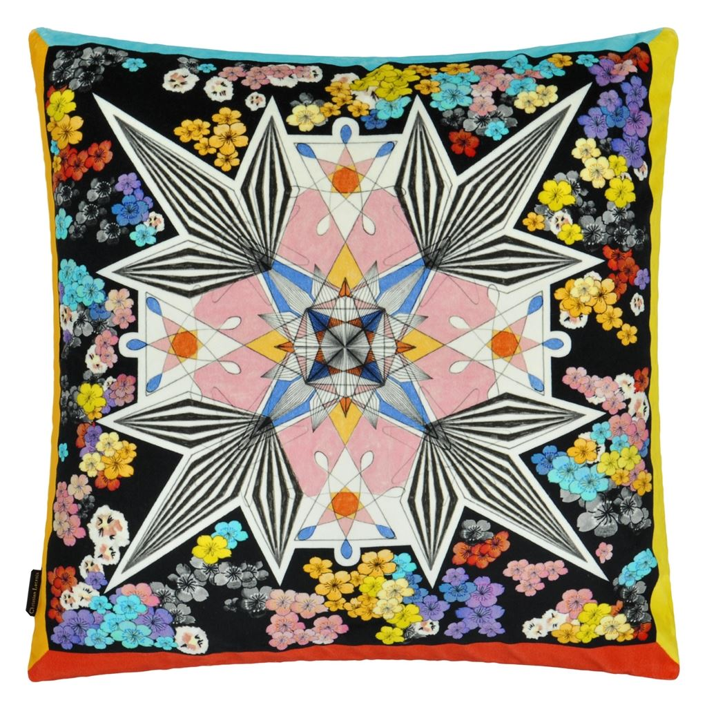 Christian Lacroix Flowers Galaxy Cushion