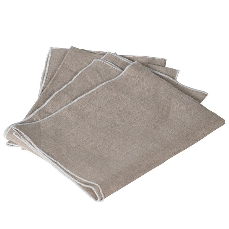 Set of 4 Linen Napkins - Barnbury