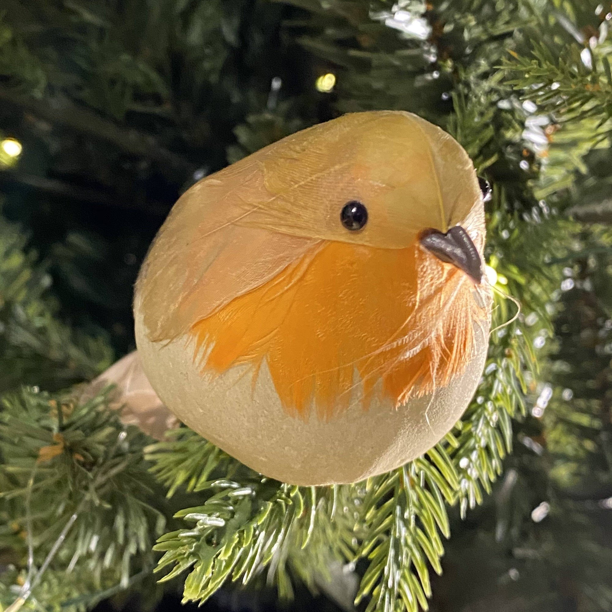 Robin Christmas Decoration With Clip - Barnbury
