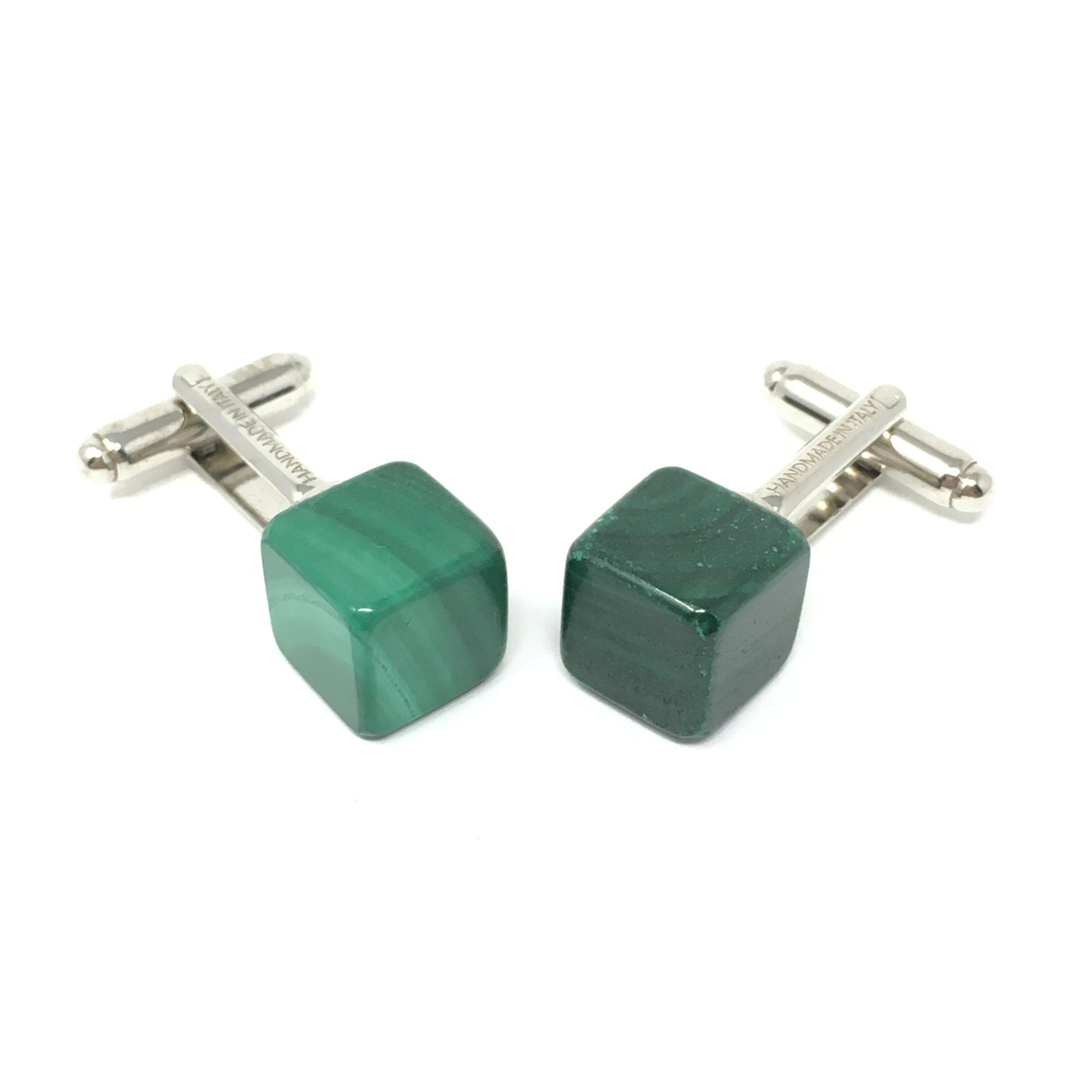 Dado Malachite Cufflinks - Barnbury