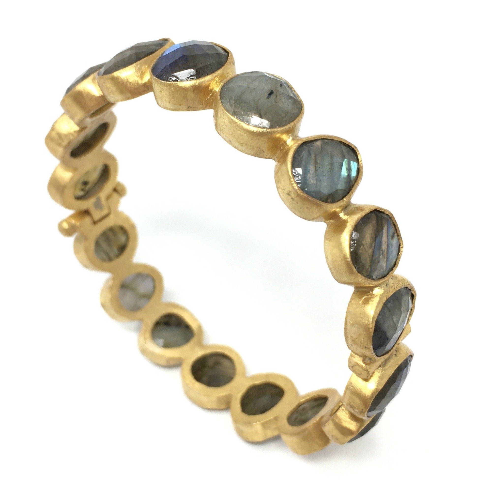 Labradorite Bangle - Barnbury