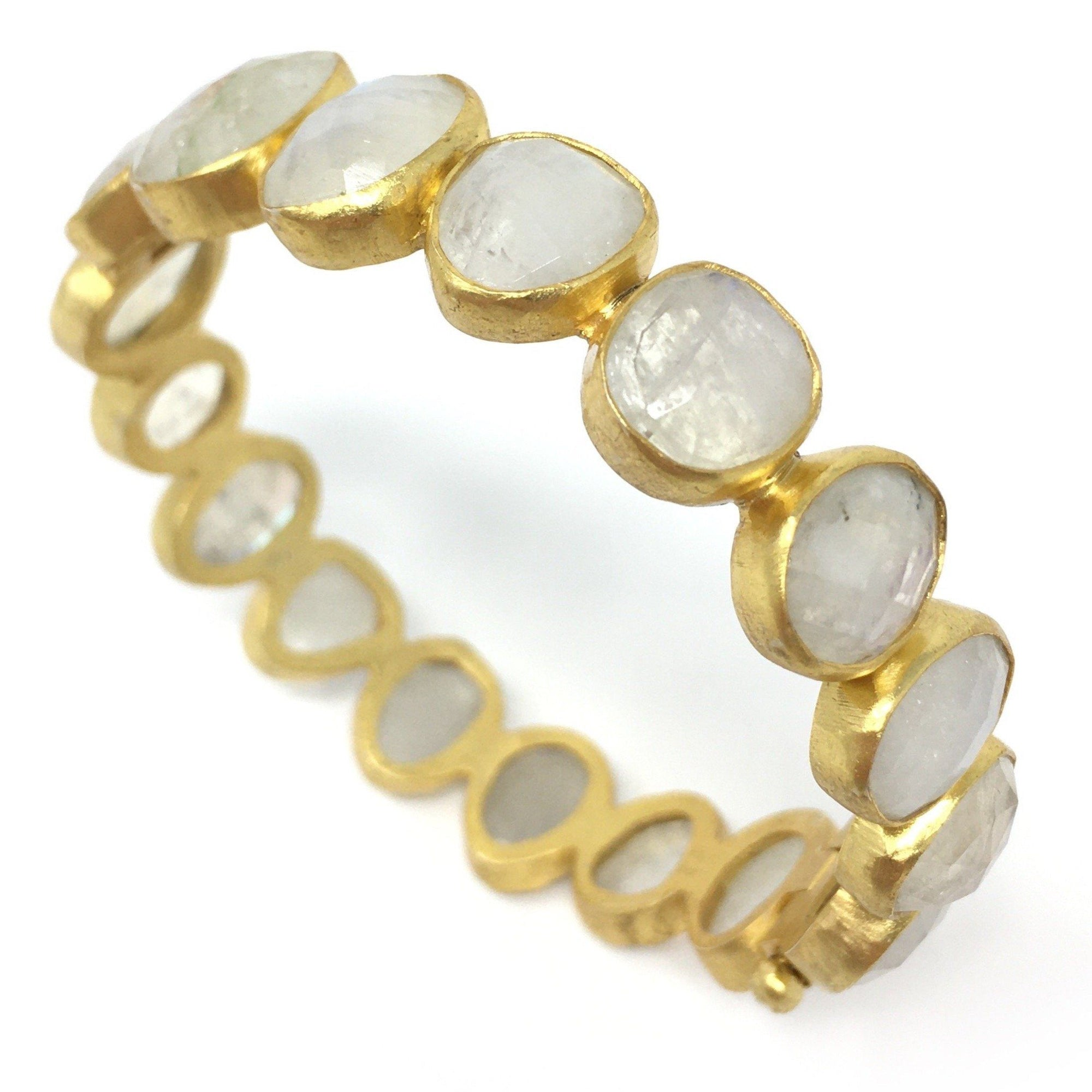 Moonstone Bangle - Barnbury
