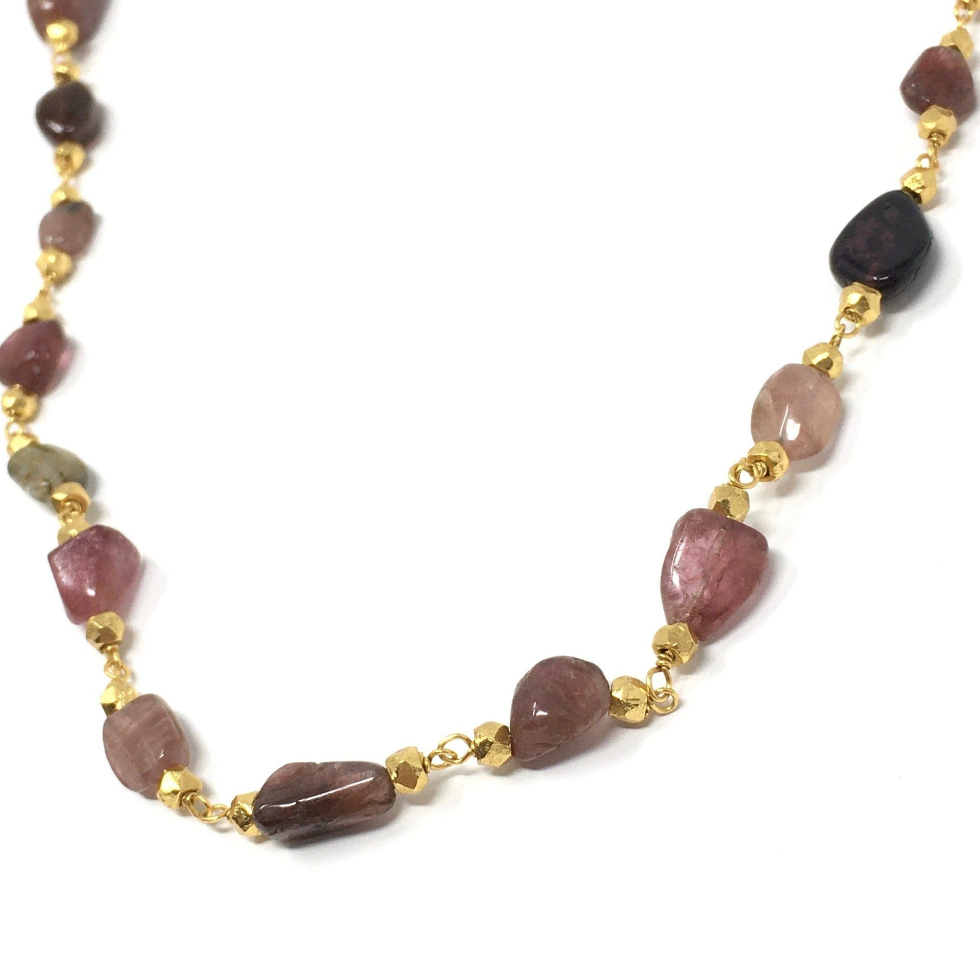 Tourmaline Long Necklace - Barnbury