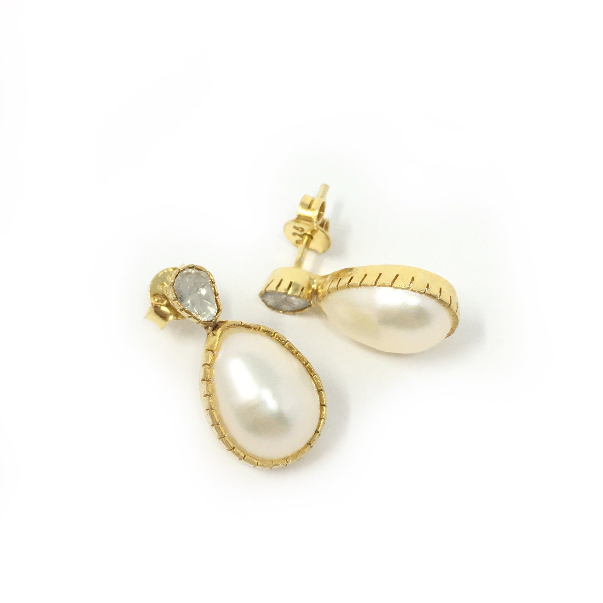 Diamond and Pearl Teardrops - Barnbury