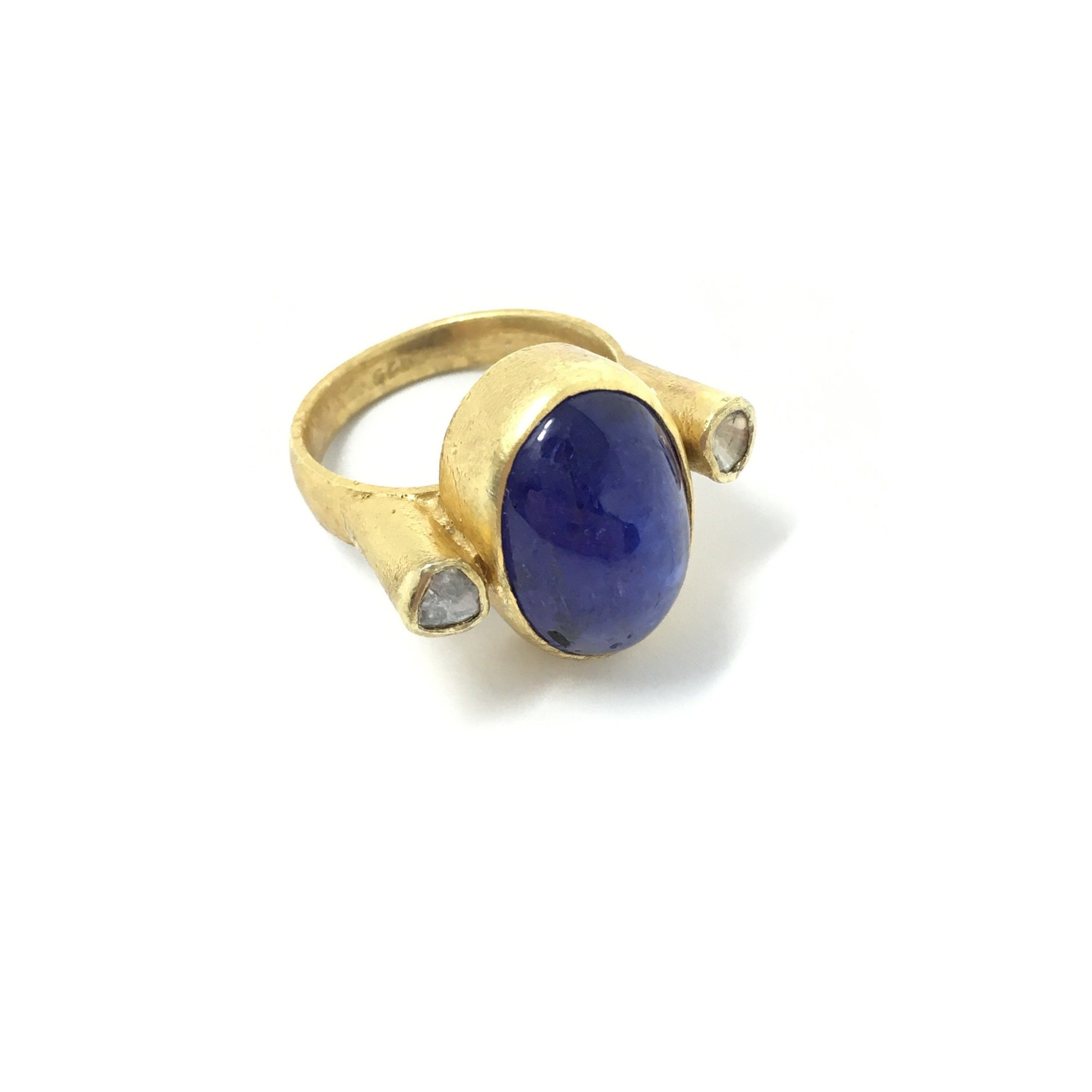 Tanzanite and Diamond Ring - Barnbury