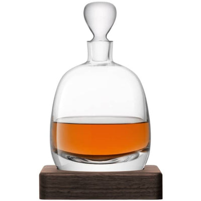 Islay Decanter with Walnut Base - Barnbury