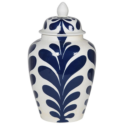 Large Santorini Lidded Jar - Barnbury