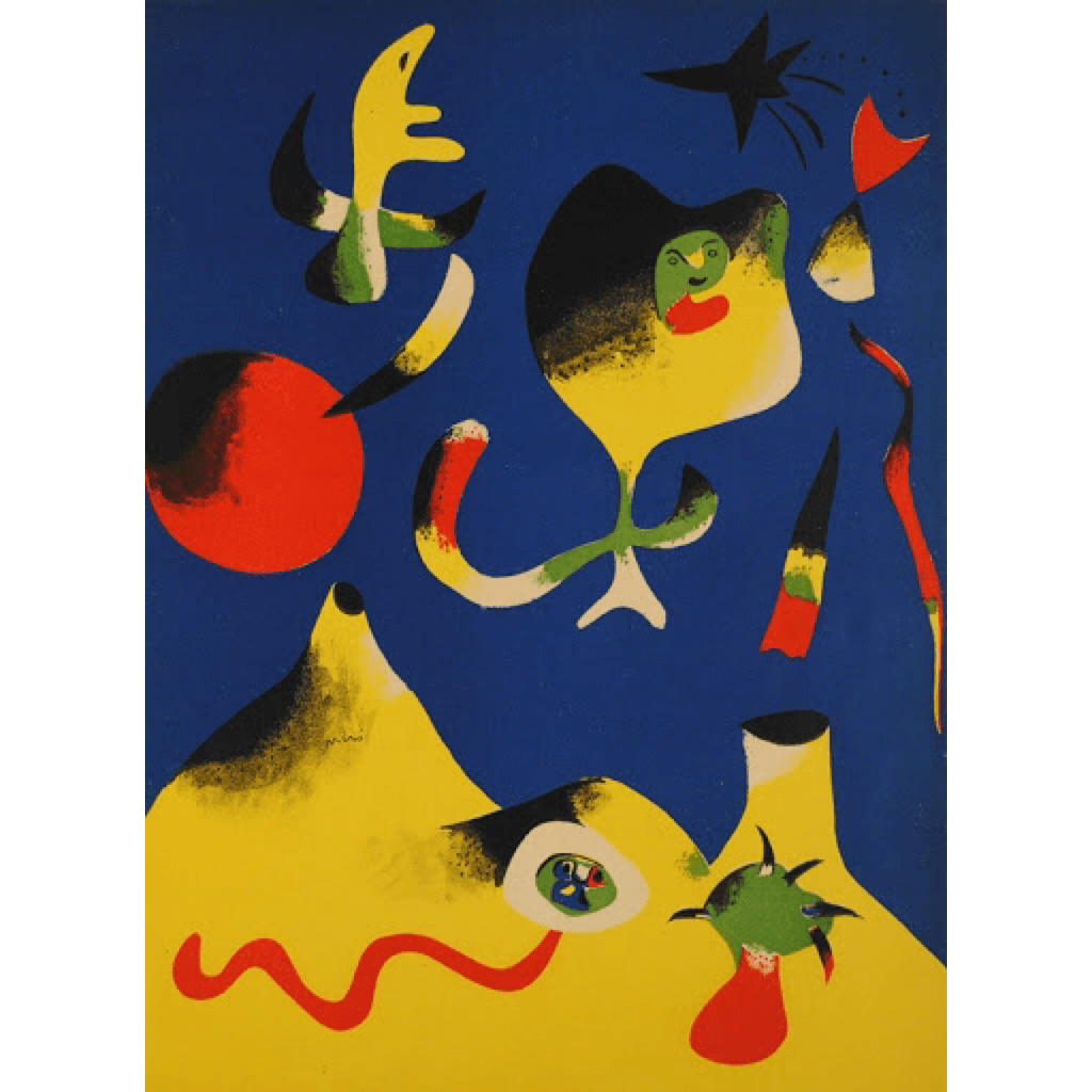 Joan Miró - L'Air - Barnbury