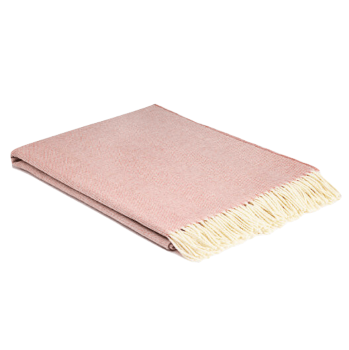 Rosebay Super Soft Herringbone Wool Throw - Barnbury