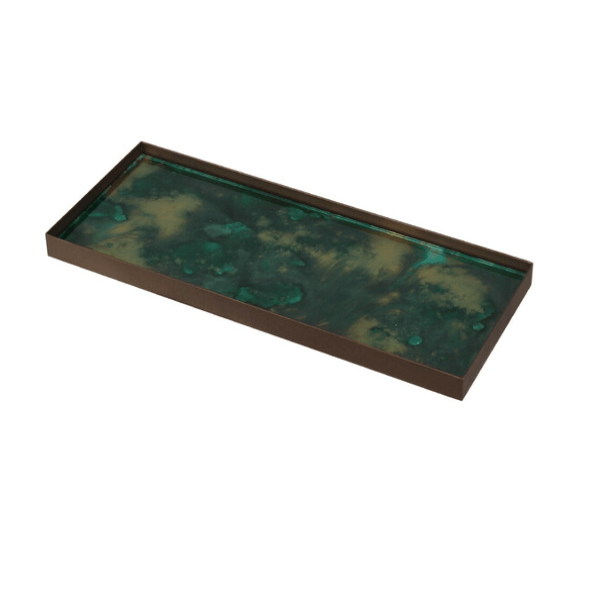 Large Malachite Tray