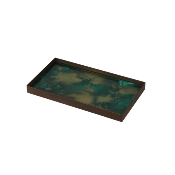 Medium Malachite Tray - Barnbury