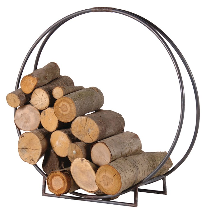 Circular Log Holder - Barnbury