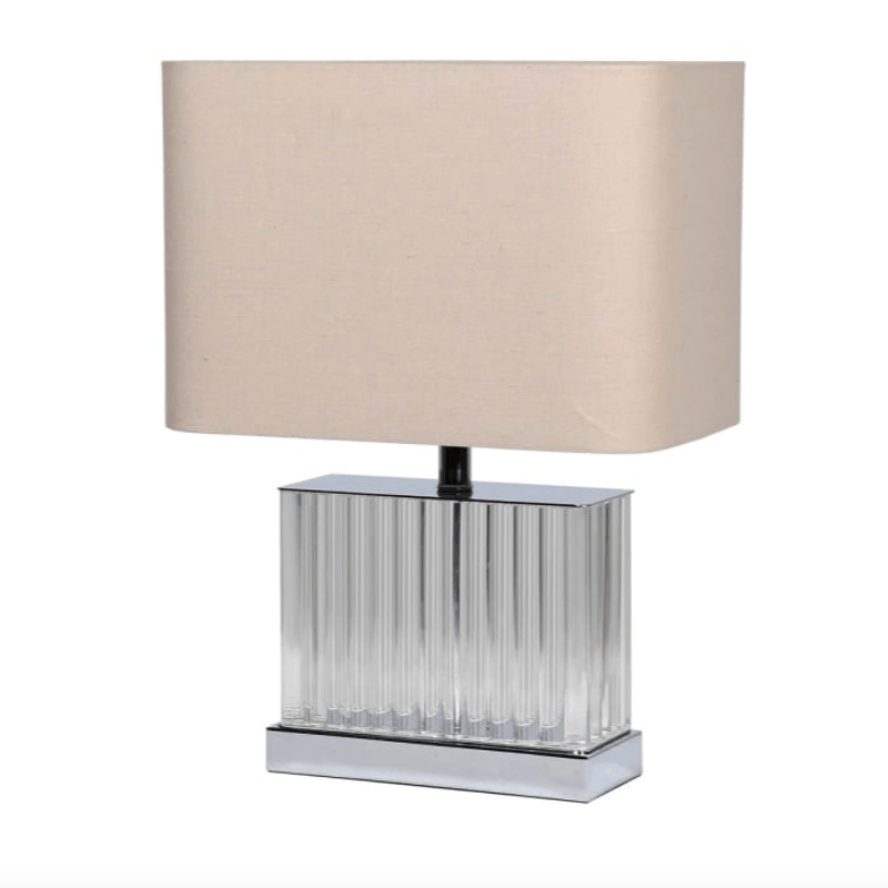 Kit Table Lamp with Linen Shade - Barnbury