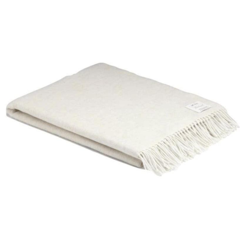 Monaco Super Soft Herringbone Wool Throw - Barnbury