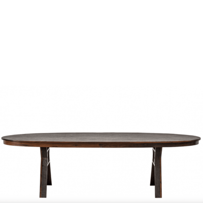 Aspen Oval Dining Table - Barnbury
