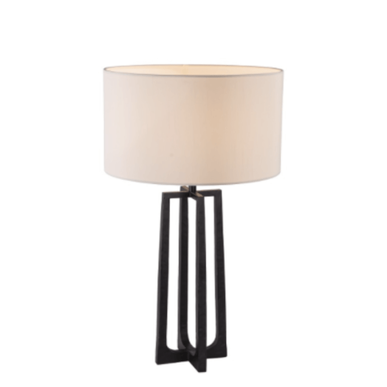 Small Lowry Lamp Base with Shade - Barnbury