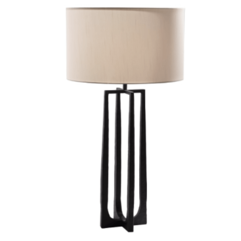Large Lowry Lamp Base with Shade - Barnbury