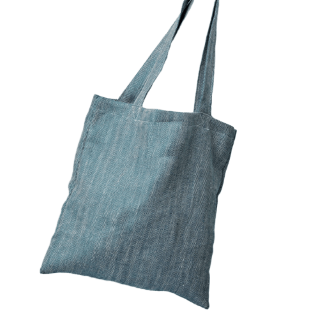 Kingfisher Linen Shopper