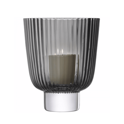 Pleat Storm Lantern - Grey - Barnbury