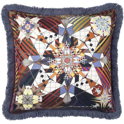 CHRISTIAN LACROIX DO YOU SPEAK LACROIX? MULTICOLORE CUSHION
