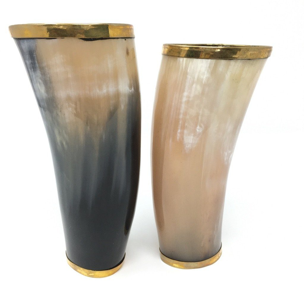 Set of 2 Horn Tumblers - Barnbury
