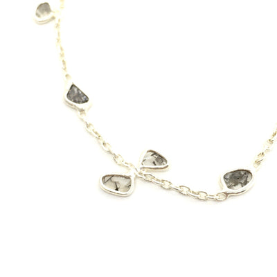 Diamond and Sterling Silver Bracelet - Barnbury