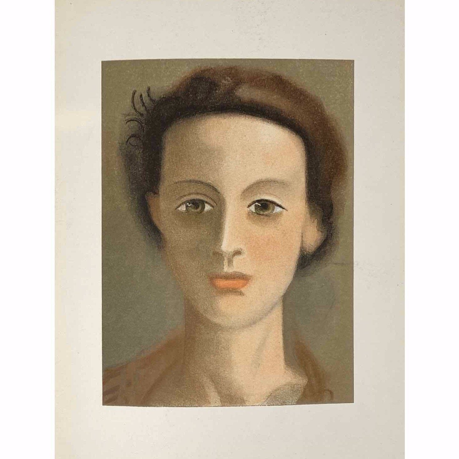 André Derain - Portrait of a Girl - Barnbury
