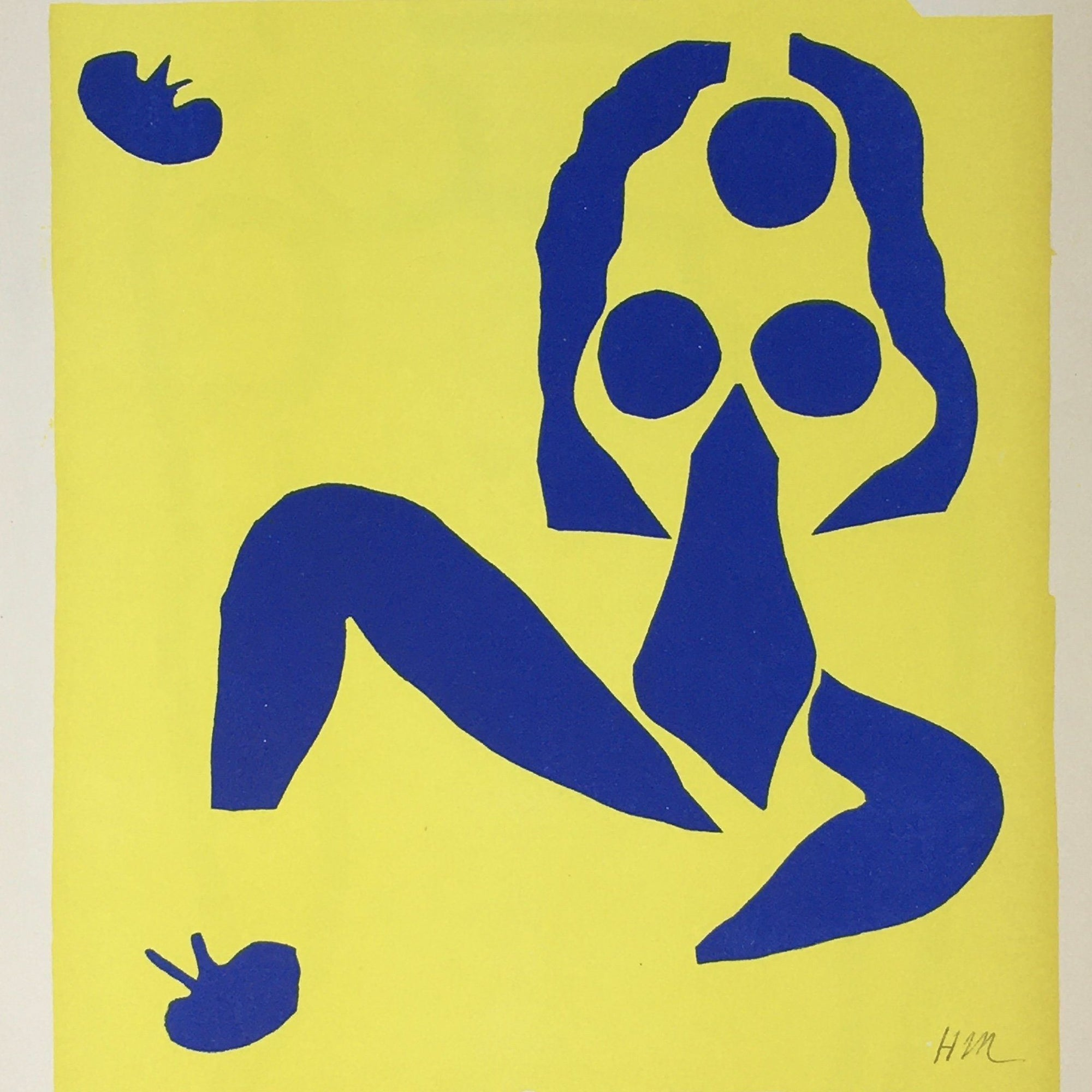 Henri Matisse - Nu Bleu on Yellow - Barnbury