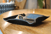 Large Black Ponyskin Valet Tray - Barnbury