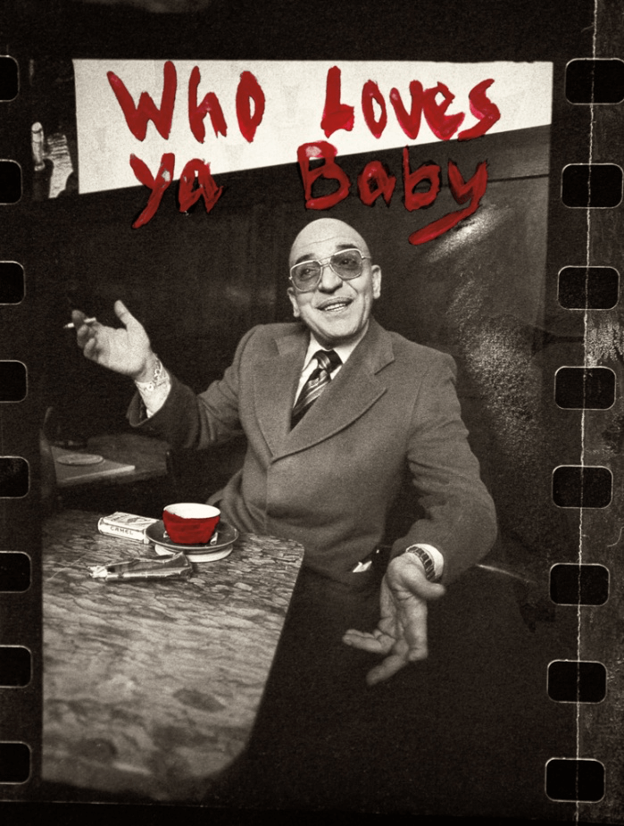 Brian Aris Photography - Telly Savalas 'Who Loves Ya Baby' Print - Barnbury