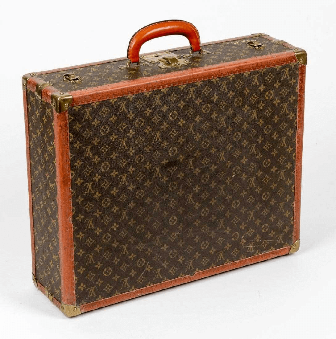 Vintage Louis Vuitton Suitcase With Hangers - Barnbury